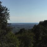 Vista sul mare da Mirteto
