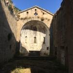 Interno della Chiesa di Santa Maria di Mirteto